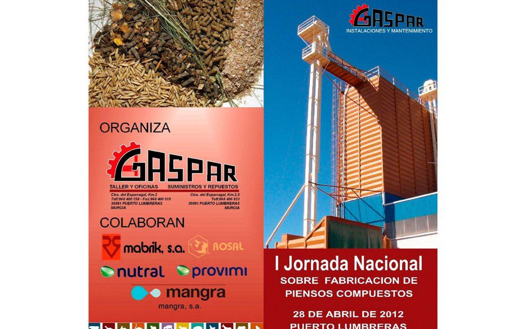 I Jornada Nacional sobre fabricación de piensos compuestos