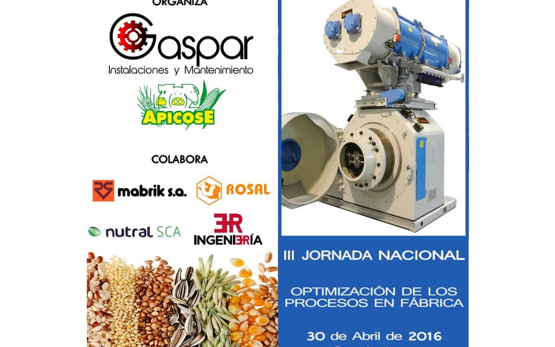 III Jornada nacional de fabricación de piensos compuestos