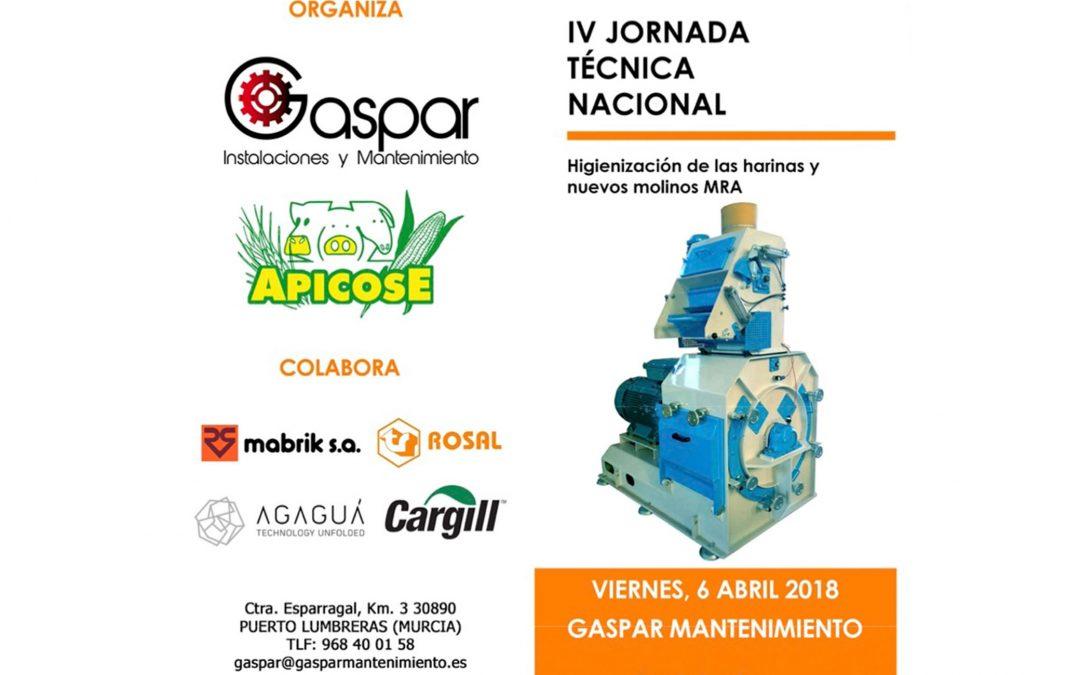 IV Jornada Nacional sobre fabricación de piensos compuestos